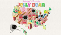 CandyStore.com Top Jelly Beans Flavors by State